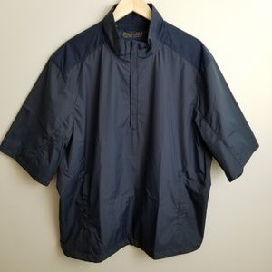 Ralph Lauren Polo Golf navy blue windbreaker Sz XL